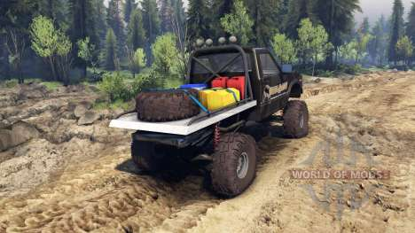 Toyota Hilux Truggy 1981 v1.1 camo for Spin Tires