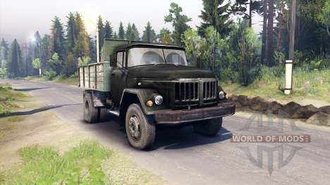 ZIL-130 MMP-4502 for Spin Tires