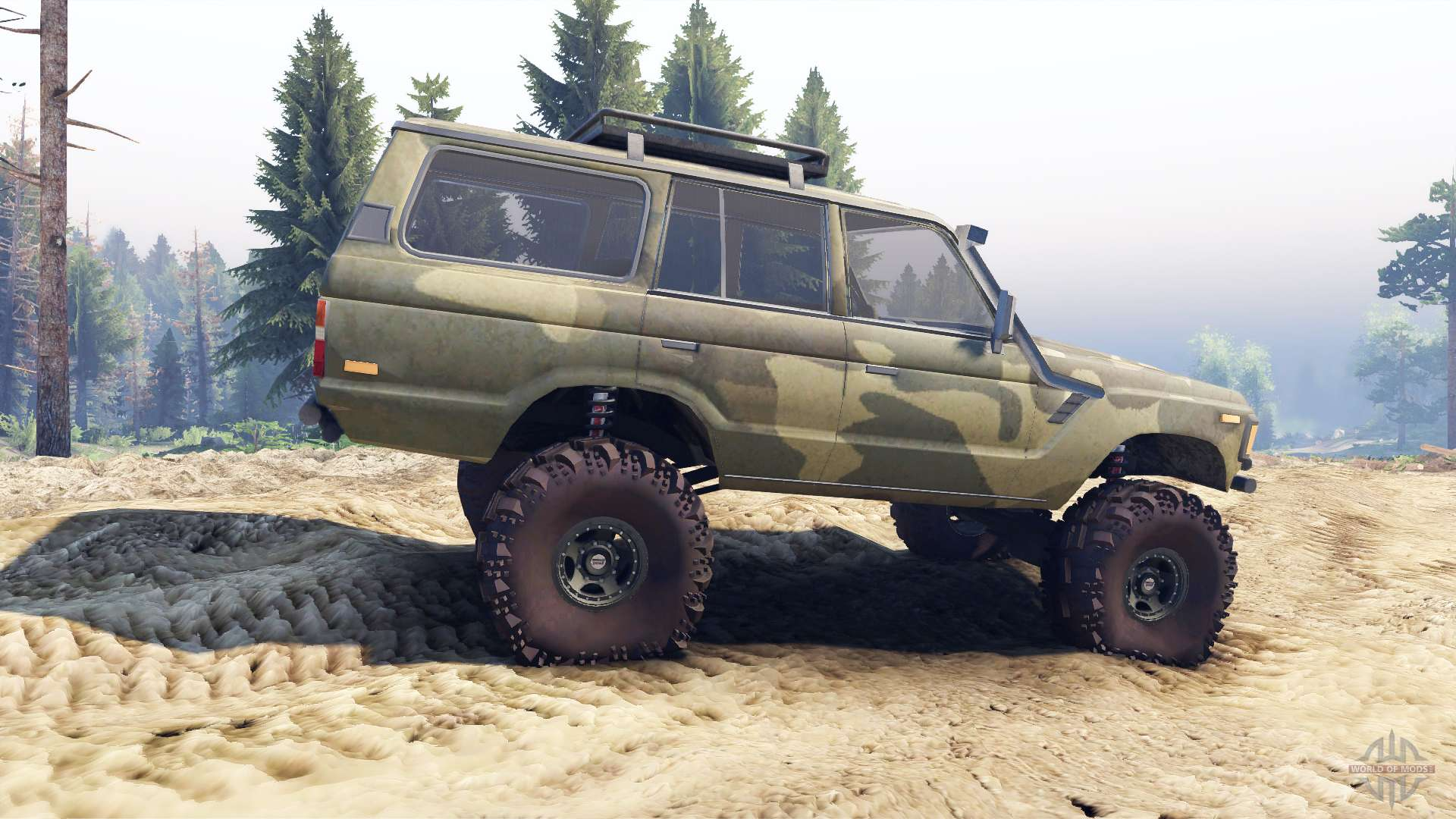 Toyota Land Cruiser 60 For Spin Tires Series
