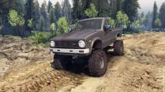 Toyota Hilux Truggy 1981 v1.1 gray for Spin Tires