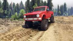 Toyota Hilux Truggy 1981 v1.1 red