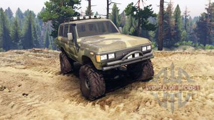 Toyota Land Cruiser 60 for Spin Tires