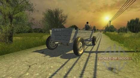 The wagon for Farming Simulator 2013