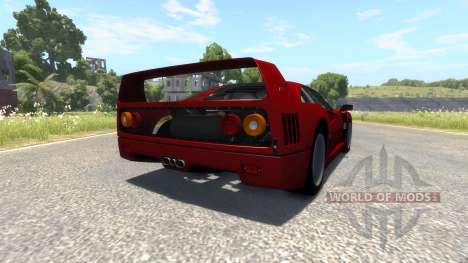 Ferrari F40 for BeamNG Drive
