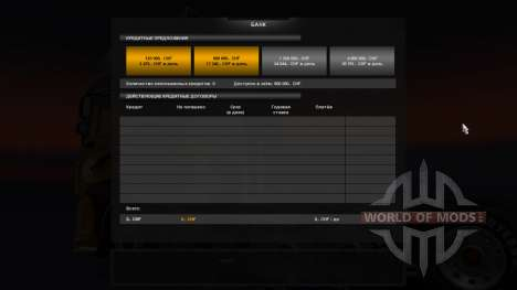 The Bank for Euro Truck Simulator 2