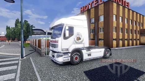 Sreen Thresholding on tractor Renault for Euro Truck Simulator 2
