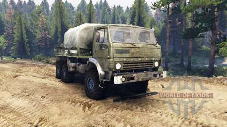KamAZ-43101 [Final] for Spin Tires