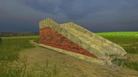 Ramp for Farming Simulator 2013