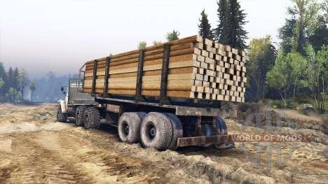 Ural-4320-30 for Spin Tires