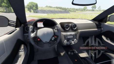 Ferrari 599 GTO 2011 for BeamNG Drive