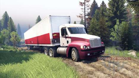 Freightliner Century Class Day Cab for Spin Tires