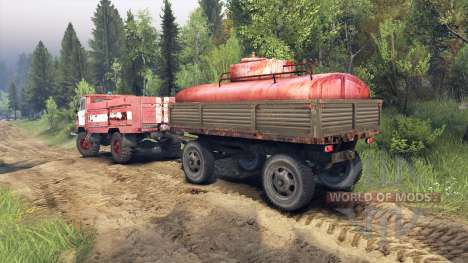 GAZ-66 AC-30 for Spin Tires