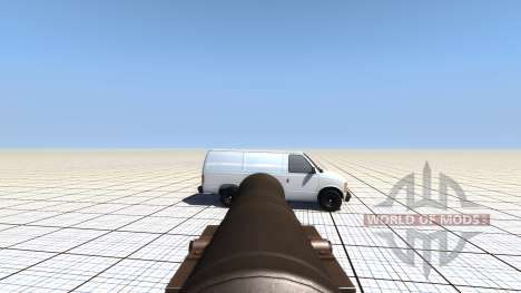 Mobile bombard for BeamNG Drive