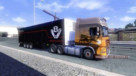 Color Schmitz Scania V8 for semi-trailer for Euro Truck Simulator 2