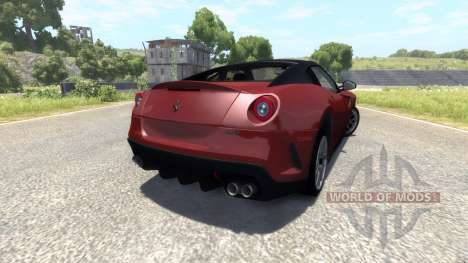 Ferrari 599 GTO 2011 for BeamNG Drive