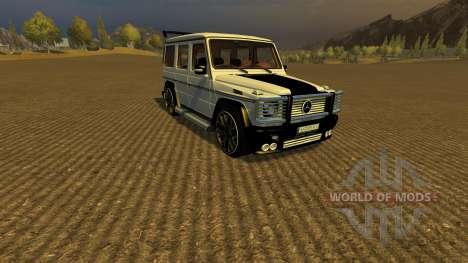 Mercedes Benz G65 AMG v2 for Farming Simulator 2013