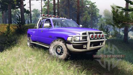 Dodge Ram 3500 for Spin Tires