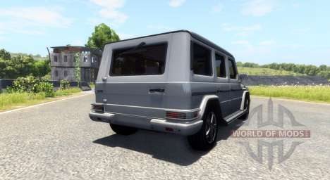 Mercedes-Benz G500 for BeamNG Drive