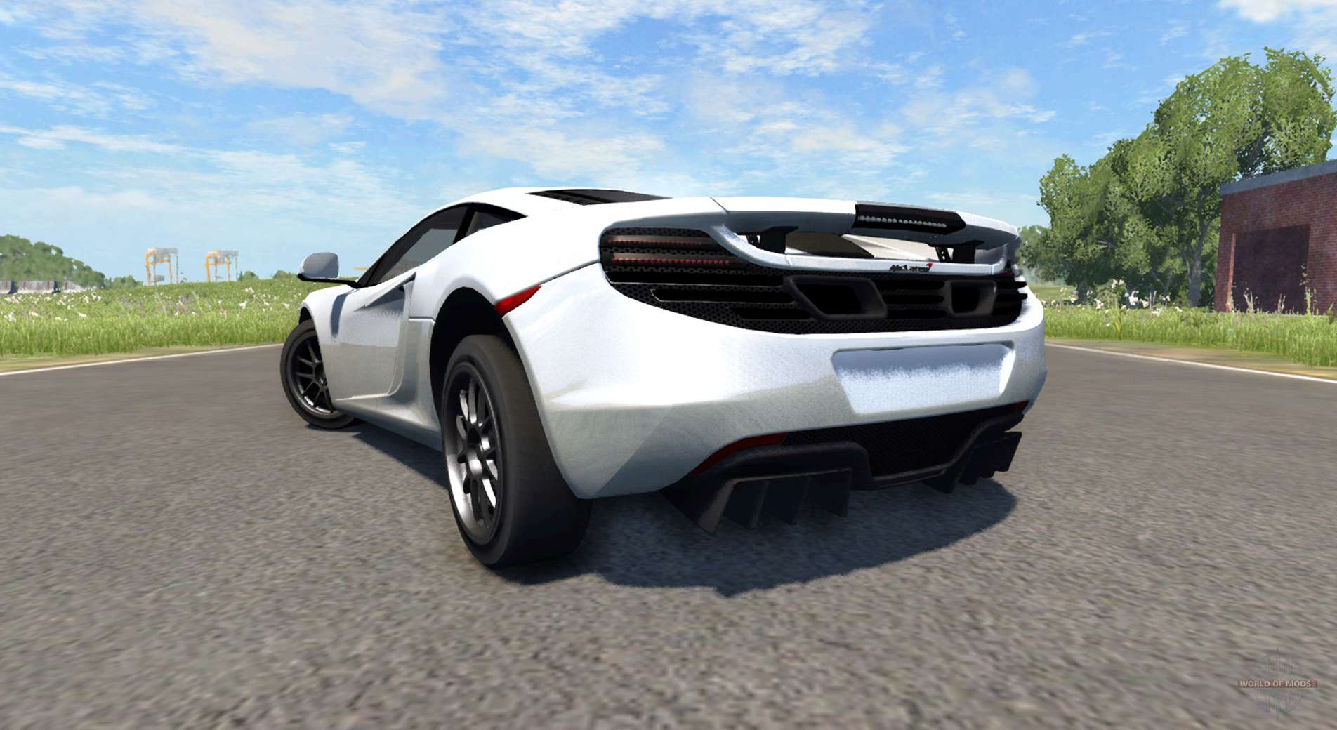 Fast Awd Cars >> McLaren MP4-12C for BeamNG Drive