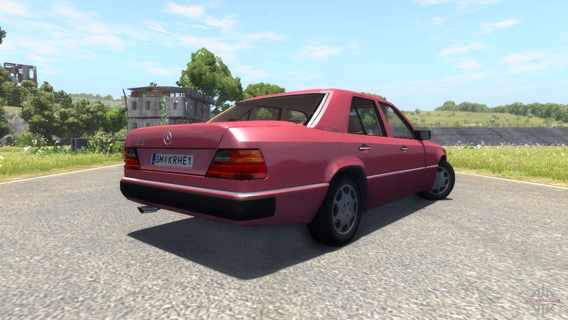 Mercedes benz w124 for beamng drive for Mercedes benz w124 parts