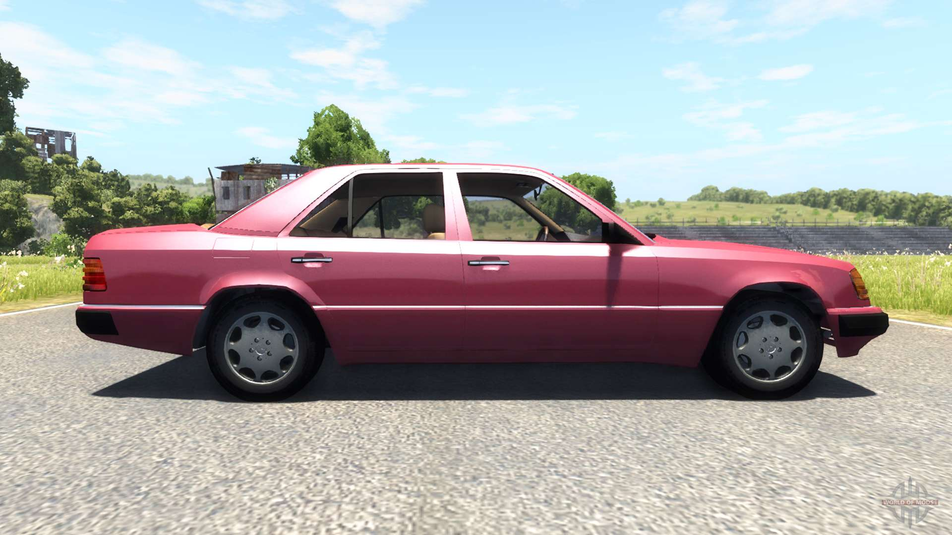 Mercedes benz w124 for beamng drive for Mercedes benz w124