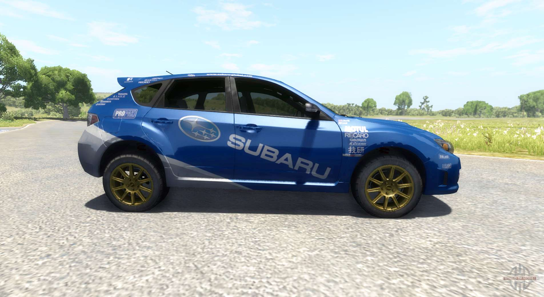 subaru impreza wrx sti 2008 for beamng drive. Black Bedroom Furniture Sets. Home Design Ideas