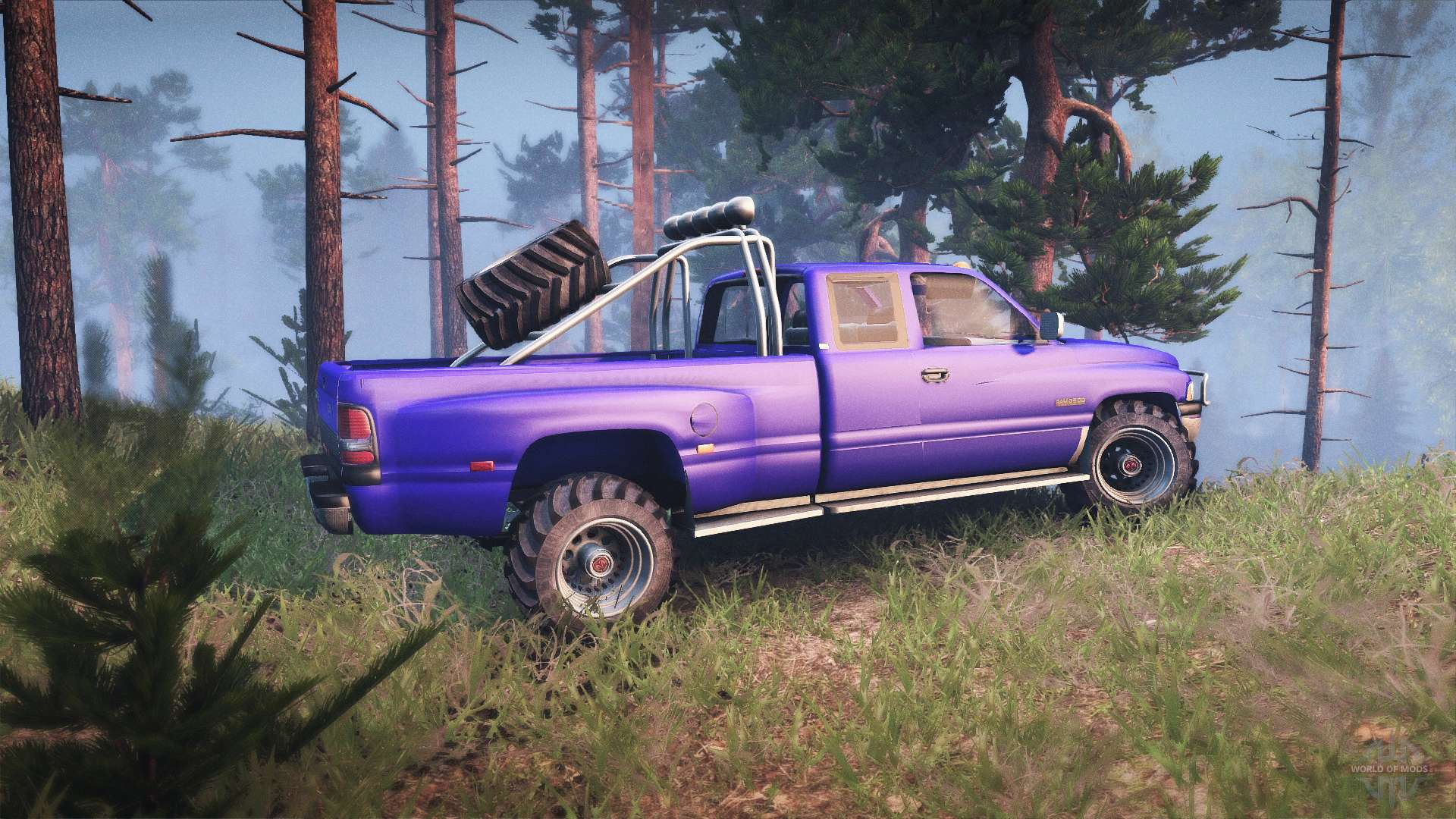 ram 3500 for spin tires