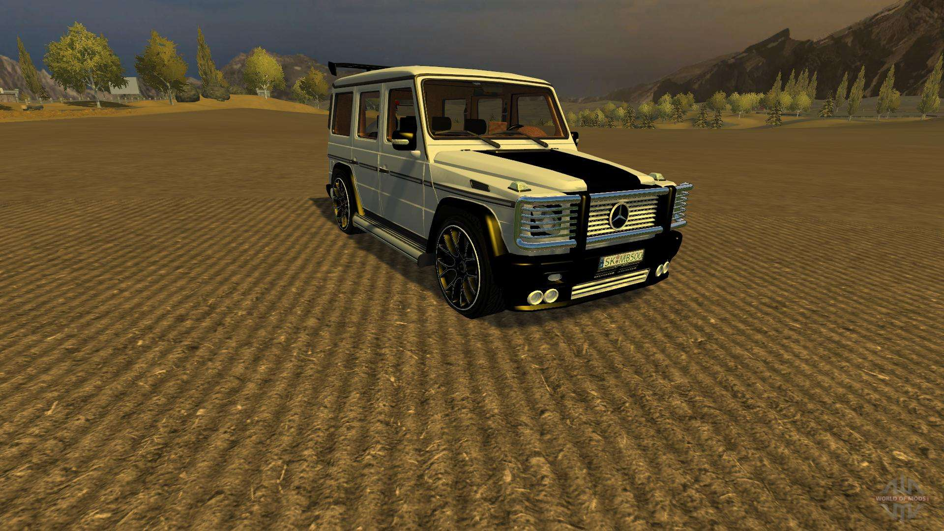 Mercedes benz g65 amg v2 for farming simulator 2013 for Mercedes benz g65
