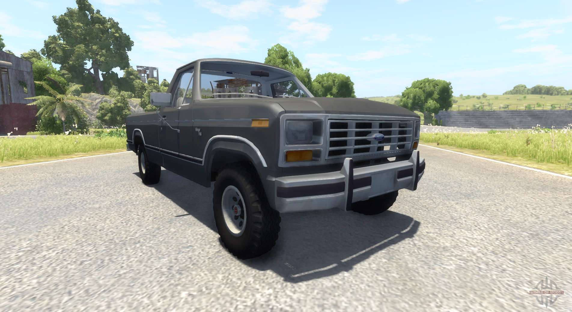 Ford For Beamng Drive Download Free 1980 F150 Explorer Black F 150 Ranger 1984