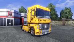 The skin Securetrans on tractor Renault