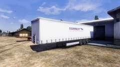 Color for semi-trailer Schmitz