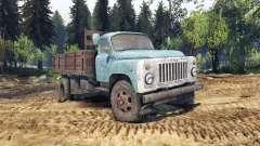 GAZ-53 blue