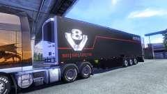 Color Schmitz Scania V8 for semi-trailer