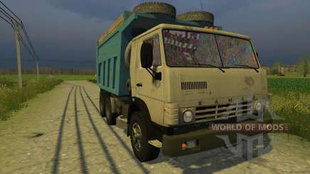 KAMAZ-45143 for Farming Simulator 2013