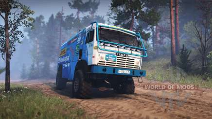 KamAZ 49252 for Spin Tires