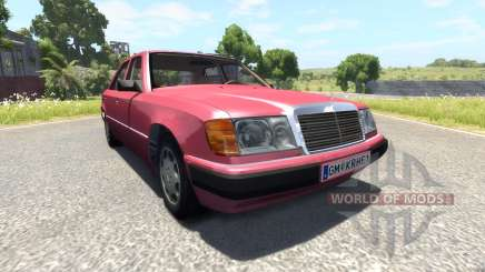 Mercedes-Benz W124 for BeamNG Drive