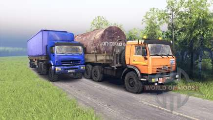 KamAZ and KAMAZ 44108-44118 for Spin Tires