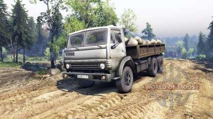 KamAZ-55102 v4.0 for Spin Tires