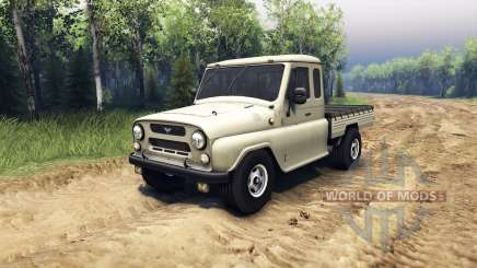 UAZ-2315 for Spin Tires