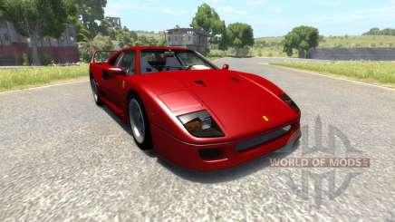 Ferrari F40 for BeamNG Drive