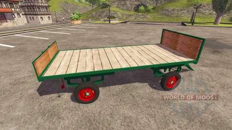 Trailer for bales for Farming Simulator 2013