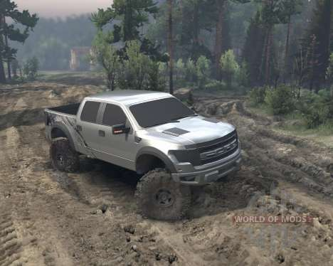 SID Ford Raptor SVT 1.0 for Spin Tires