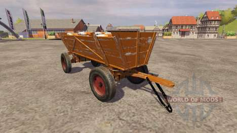 Seed Holzwagen v2.0 for Farming Simulator 2013