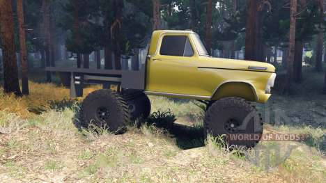 Ford F-100 v1.1 for Spin Tires