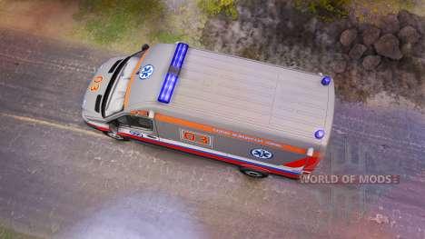 Scania 260 и Mercedes-Benz Sprinter for Spin Tires