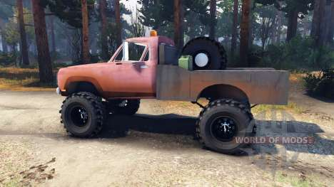 Dodge Power Wagon B-17 Rocks for Spin Tires