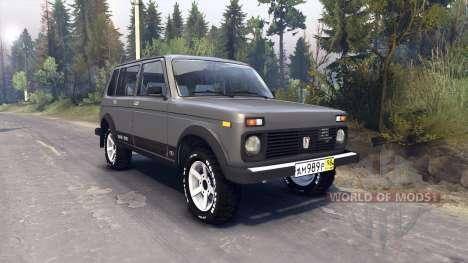 VAZ-2131 for Spin Tires