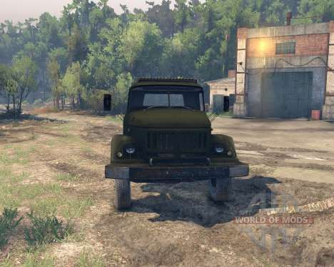 ZIL 53131 for Spin Tires