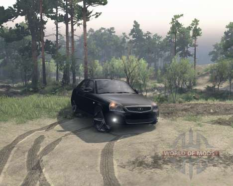 LADA Priora for Spin Tires