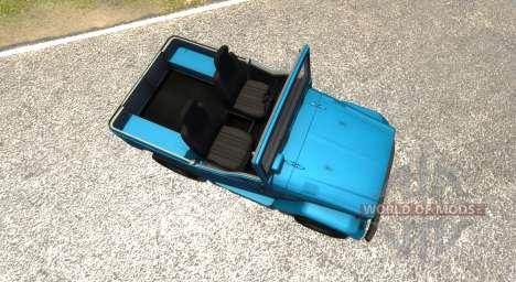 Toyota Land Cruiser (J40) 1980 for BeamNG Drive